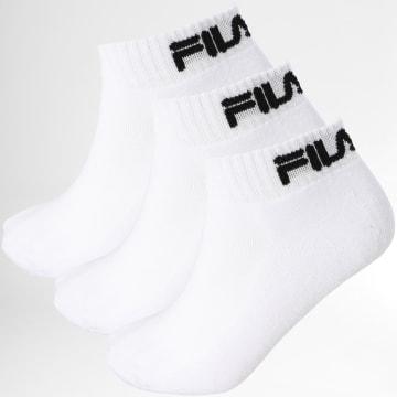 Fila - Lot De 3 Paires De Chaussettes F9803 Blanc