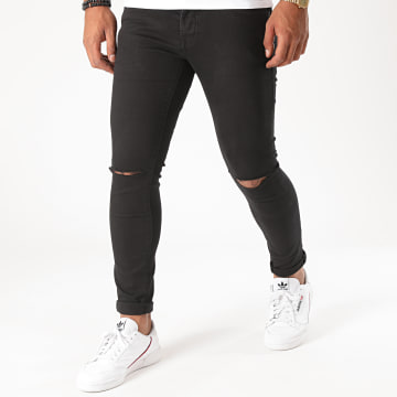 GRJ Denim - Jean Slim 14426 Noir