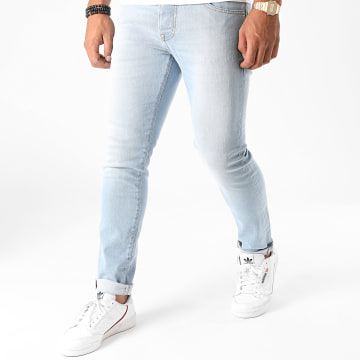 GRJ Denim - Jean Slim 14419-3 Bleu Denim