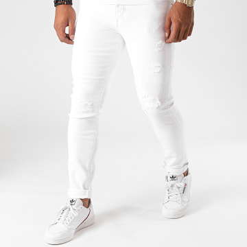 GRJ Denim - Jean Slim 2012 Blanc