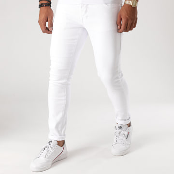 GRJ Denim - Jean Slim 14366 Blanc