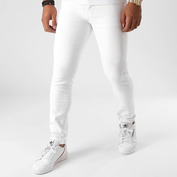 GRJ Denim - Jean Slim 14404 Blanc