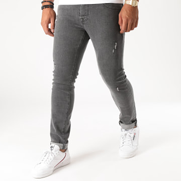 GRJ Denim - Jean Slim 14433 Gris