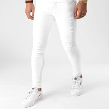 GRJ Denim - Jean Slim 2013 Blanc