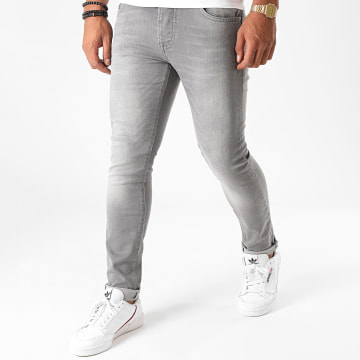 GRJ Denim - Jean Slim 14378-1 Gris