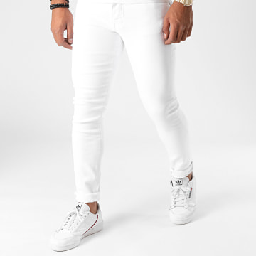 GRJ Denim - Jean Slim 2021 Blanc