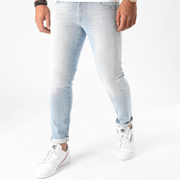 GRJ Denim - Jean Slim 14385-5 Bleu Denim