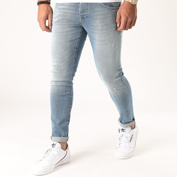 GRJ Denim - Jean Slim 14385-1 Bleu Denim