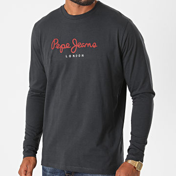 Pepe Jeans - Tee Shirt Manches Longues Infinity Noir