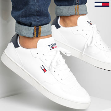 Tommy Jeans - Baskets Essential Cupsole 0573 White
