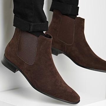Classic Series - Chelsea Boots M3892 Marron