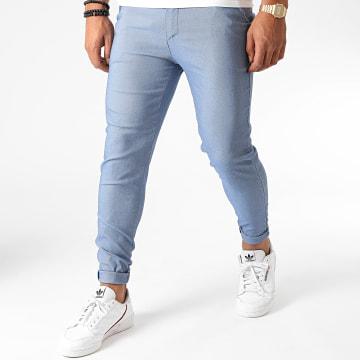 Frilivin - Pantalon Chino 1676 Bleu Clair
