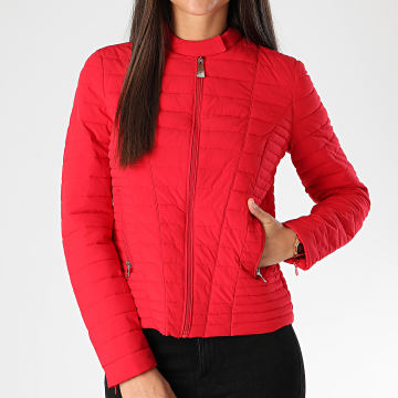 Guess - Doudoune Femme W0BL1I-W6NW0 Rouge