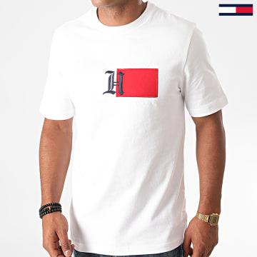 Tommy Hilfiger - Tee Shirt Lewis Hamilton Classic Logo 5720 Blanc