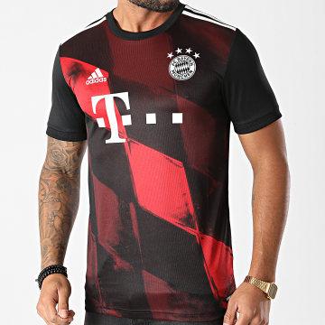 Adidas Performance - Tee Shirt De Sport A Bandes FC Bayern FN1949 Noir