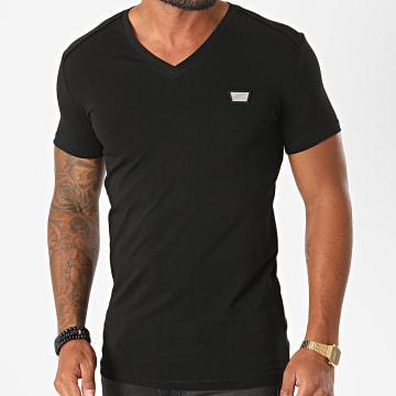 Antony Morato - Tee Shirt Col V MMKS01824 Noir