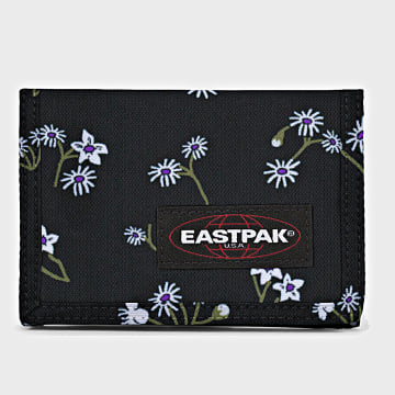 Eastpak - Portefeuille Crew Single Noir Floral