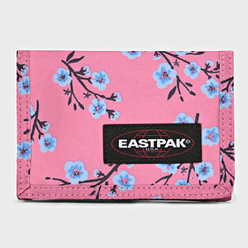 Eastpak - Portefeuille Crew Single Rose Floral
