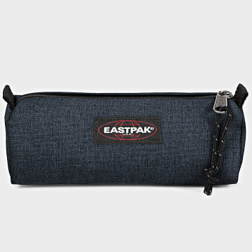 Eastpak - Trousse Benchmark Single Bleu Marine Chiné