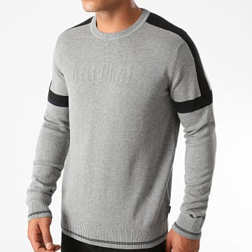 Kaporal - Pull RIOM52 Gris Chiné