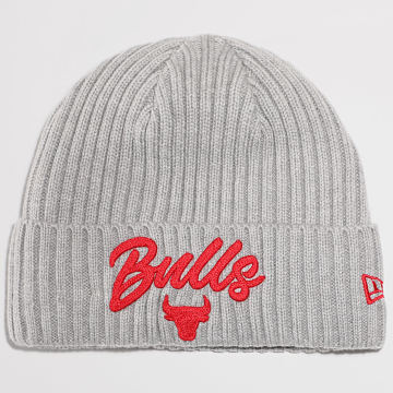 New Era - Bonnet NBA 20 Draft Knit 60003112 Chicago Bulls Gris