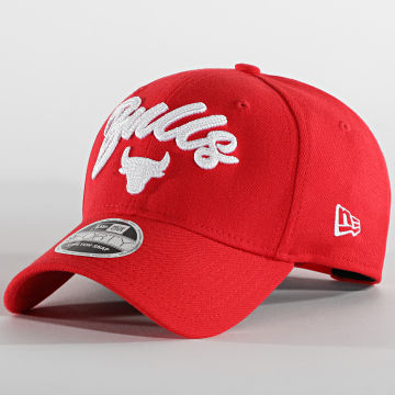 New Era - Casquette 9Forty Stretch Snap 60003205 Chicago Bulls Rouge