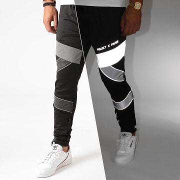 Project X - Pantalon Jogging 2040088 Noir Réfléchissant
