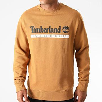 Timberland - Sweat Crewneck A2AMH Marron