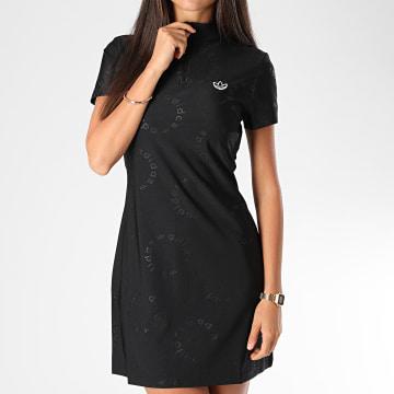 Adidas Originals - Robe Tee Shirt Femme GE6198 Noir