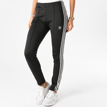 Adidas Originals - Pantalon Jogging Slim Femme A Bandes SST GD2361 Noir