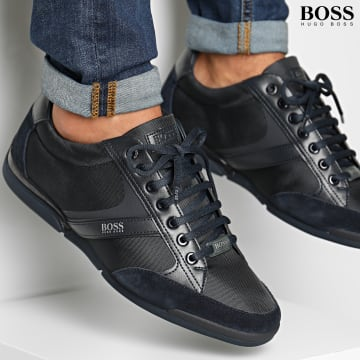 BOSS - Baskets Saturn Lowp 50407672 Dark Blue