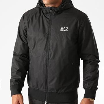 EA7 - Veste Zippée Capuche 6HPB02-PN27Z Noir