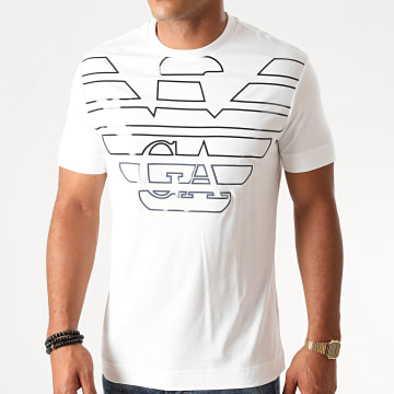 Emporio Armani - Tee Shirt 6H1TQ7-1J30Z Blanc