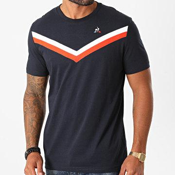 Le Coq Sportif - Tee Shirt Tri Tee 2011341 Bleu Marine