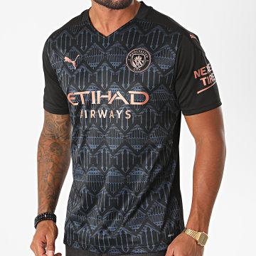 Puma - Tee Shirt De Sport Manchester City Away Replica 757065 Noir