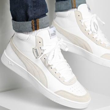 Puma - Baskets Court Legend SL Collar 373750 Puma White High Rise