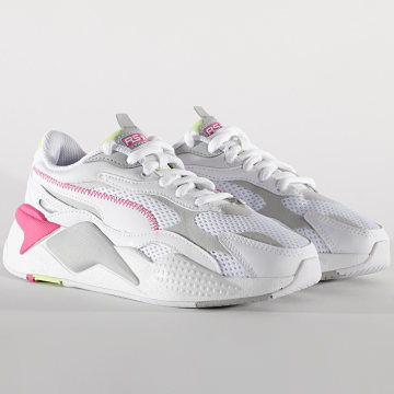 Puma - Baskets Femme RS-X3 Millenium 373236 Puma White Gray Violet Sharp Green