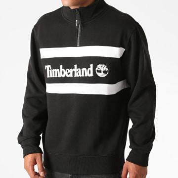 Timberland - Sweat Col Zippé A2AKW Noir