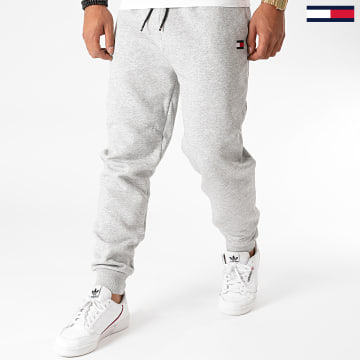 Tommy Hilfiger - Pantalon Jogging Cuffed Regular Fleece 0563 Gris Chiné
