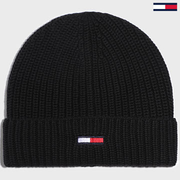 Tommy Jeans - Bonnet Basic Flag 5191 Noir