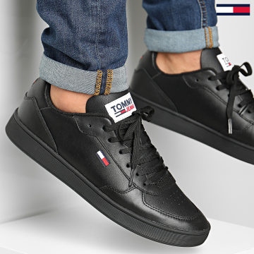 Tommy Jeans - Baskets Essential Cupsole 0573 Black