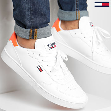 Tommy Jeans - Baskets Essential Cupsole 0573 Solar Flare