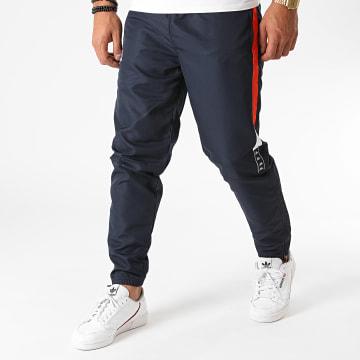 Kappa - Pantalon Jogging A Bandes Ipeu 3112E7W Bleu Marine