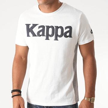 Kappa - Tee Shirt Slim Impala Blanc