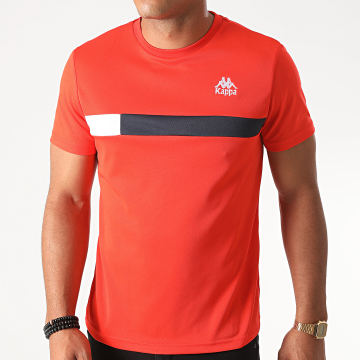 Kappa - Tee Shirt Slim Impro Orange