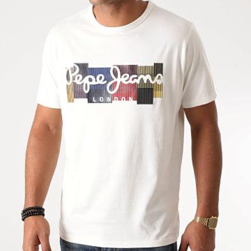 Pepe Jeans - Tee Shirt Casst Blanc