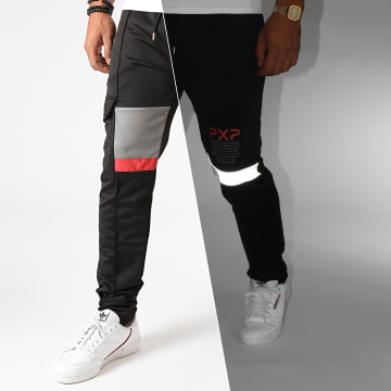 Project X - Pantalon Jogging 2040095 Noir Réfléchissant
