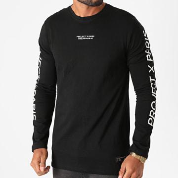 Project X - Tee Shirt Manches Longues 2020072 Noir