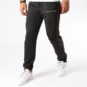 Project X - Pantalon Jogging A Bandes 2040085 Noir
