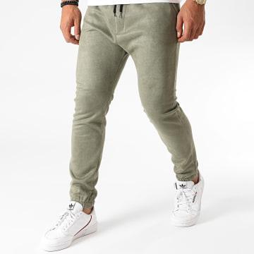 Terance Kole - Pantalon Jogging U4007 Vert Kaki
